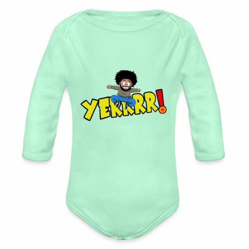 #Yerrrr! - Organic Long Sleeve Baby Bodysuit