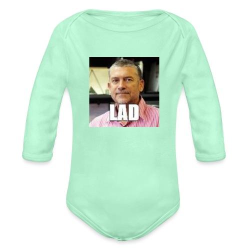 CHCCS meme design 2 - Organic Long Sleeve Baby Bodysuit