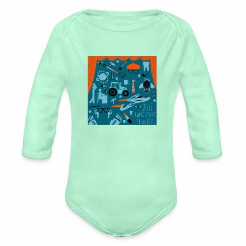 2017 Rant Street Film Fest - Organic Long Sleeve Baby Bodysuit