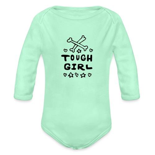 Tough Girl - Organic Long Sleeve Baby Bodysuit