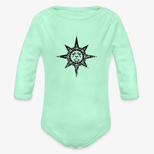 dinasty - Organic Long Sleeve Baby Bodysuit