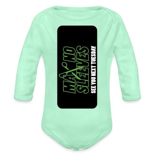 syntiphone5 - Organic Long Sleeve Baby Bodysuit