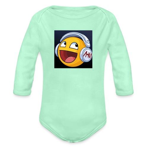 ItzRyanAndArchie Logo - Organic Long Sleeve Baby Bodysuit
