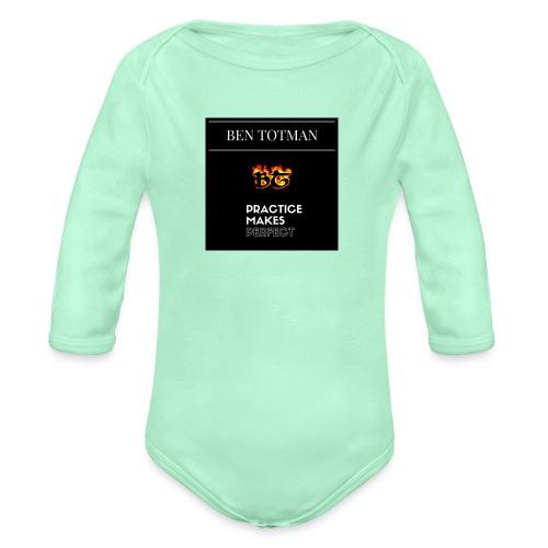 Ben Totman - Organic Long Sleeve Baby Bodysuit