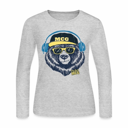 MCG BEAR - Women's Long Sleeve Jersey T-Shirt