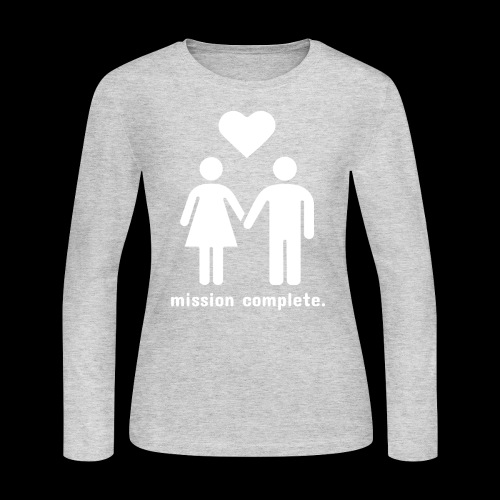 Mission Complete | In Love - Women's Long Sleeve Jersey T-Shirt