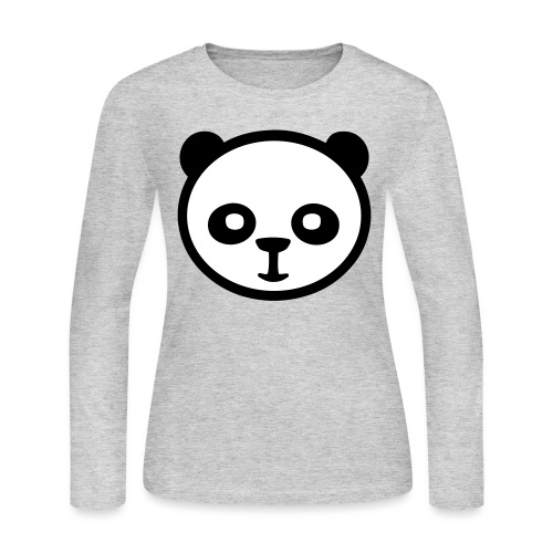 Panda bear, Big panda, Giant panda, Bamboo bear - Women's Long Sleeve Jersey T-Shirt