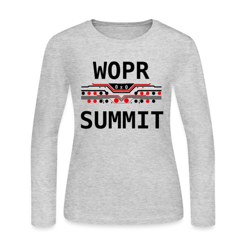 WOPR Summit 0x0 RB - Women's Long Sleeve Jersey T-Shirt