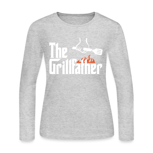 The Grillfather - Women's Long Sleeve Jersey T-Shirt