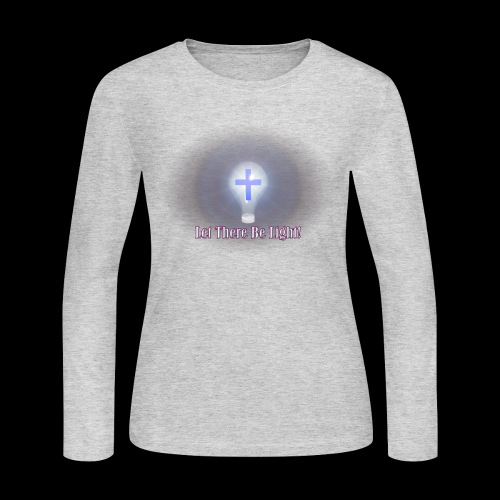 Let There Be Light 2 - Women's Long Sleeve Jersey T-Shirt
