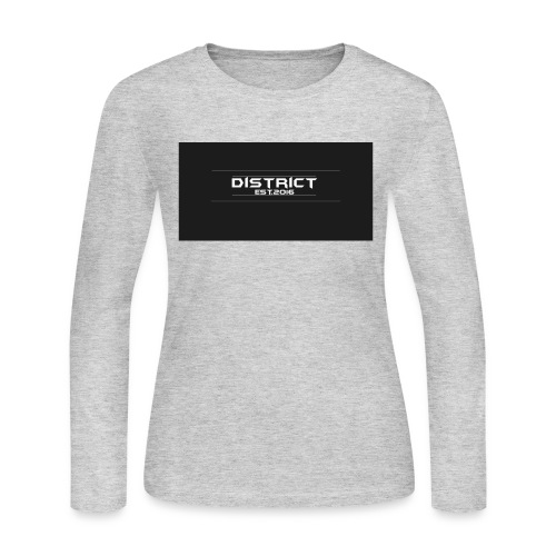 District apparel - Women's Long Sleeve Jersey T-Shirt