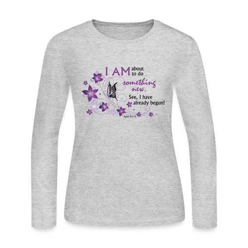 Something new - Women's Long Sleeve Jersey T-Shirt