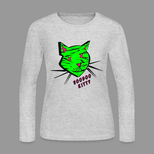 Voodoo Kitty - Women's Long Sleeve Jersey T-Shirt