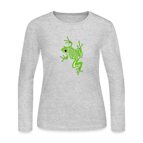 Anglo-Saxon Frog - Women's Long Sleeve Jersey T-Shirt