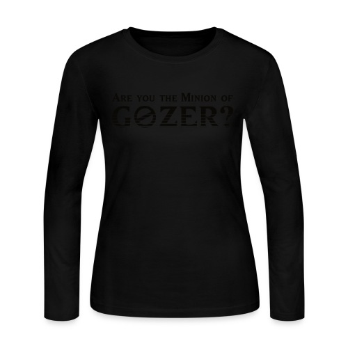 Are you the minion of Gozer? - Women's Long Sleeve Jersey T-Shirt