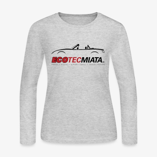 Ecotec Miata Logo - Women's Long Sleeve Jersey T-Shirt