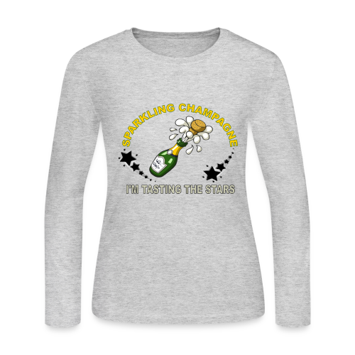 tasting stars - Women's Long Sleeve Jersey T-Shirt