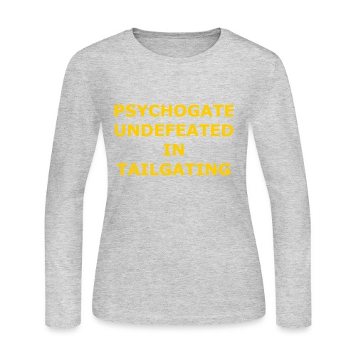Undefeated In Tailgating - Women's Long Sleeve Jersey T-Shirt