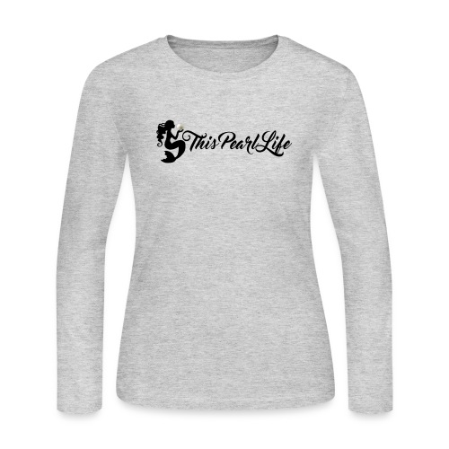 This Pearl Life Logo - Women's Long Sleeve Jersey T-Shirt