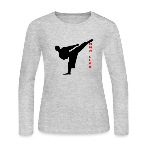 Mixed Martial arts such as MMA, BJJ by MMA LIFE - Women's Long Sleeve Jersey T-Shirt