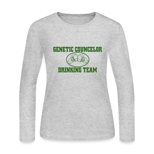 Genetic Counselor - Women's Long Sleeve Jersey T-Shirt