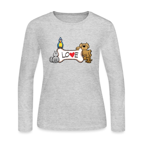Pet Love - Women's Long Sleeve Jersey T-Shirt