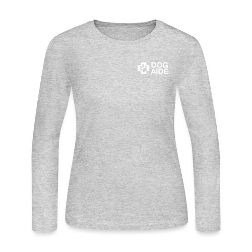 DA Logo White - Women's Long Sleeve Jersey T-Shirt