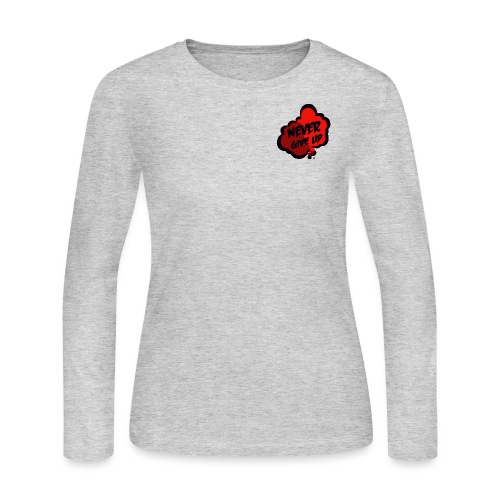 logo 5 final - Women's Long Sleeve Jersey T-Shirt