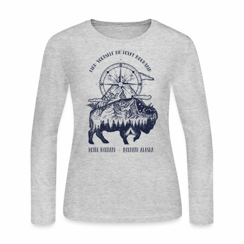 EGYPT MOUNTAIN TSHIRT - Women's Long Sleeve Jersey T-Shirt
