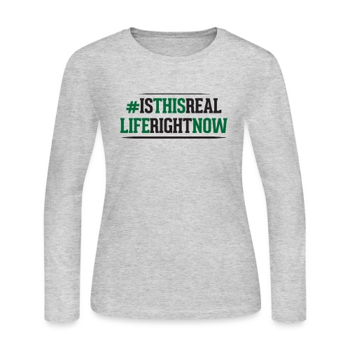 isthisreallife - Women's Long Sleeve Jersey T-Shirt