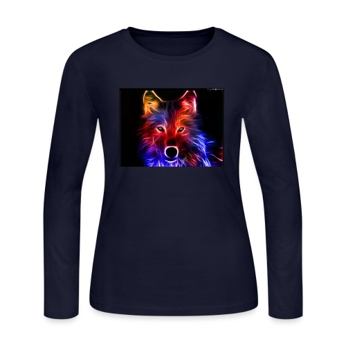 Screenshot 20171205 025459 - Women's Long Sleeve Jersey T-Shirt
