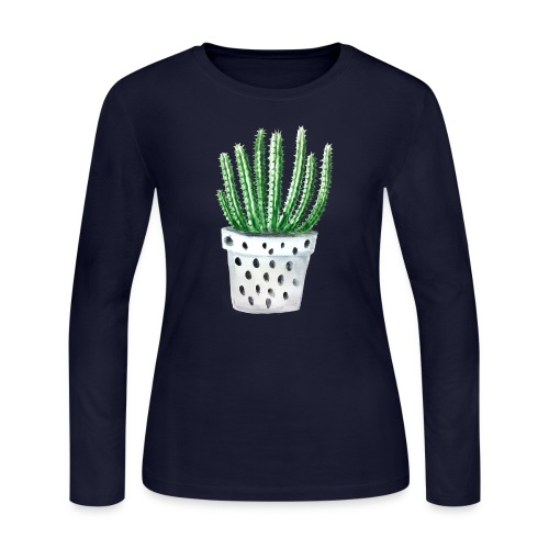Cactus - Women's Long Sleeve Jersey T-Shirt