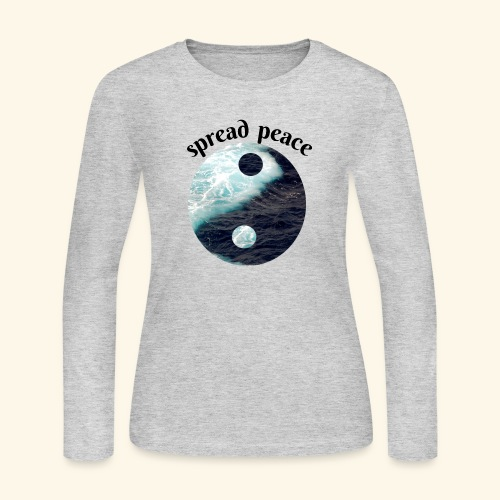 spread peace - Women's Long Sleeve Jersey T-Shirt