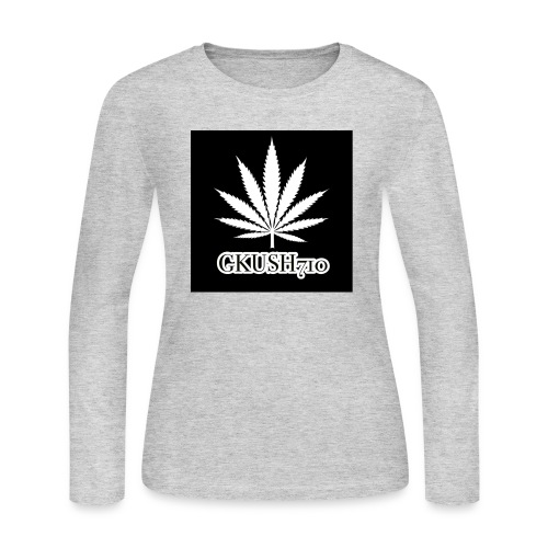 Weed Leaf Gkush710 Hoodies - Women's Long Sleeve Jersey T-Shirt