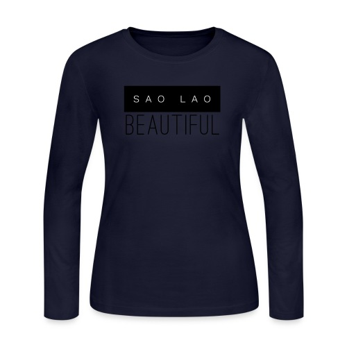 Sao Lao Beautiful - Women's Long Sleeve Jersey T-Shirt