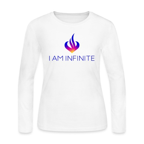 I Am Infinite - Women's Long Sleeve Jersey T-Shirt