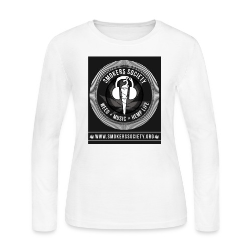 Smokers Society - Women's Long Sleeve Jersey T-Shirt