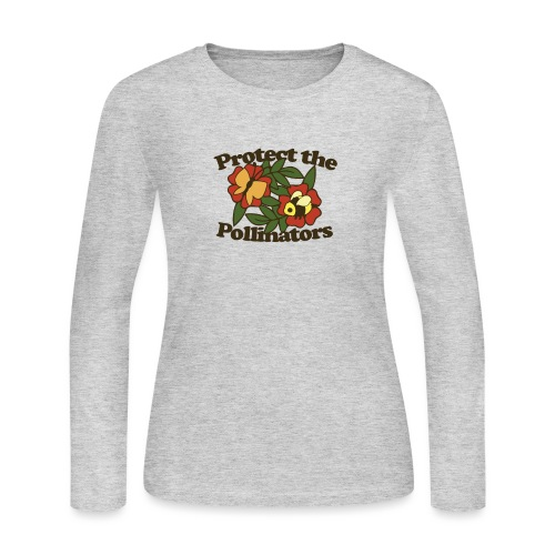 Protect the pollinators - Women's Long Sleeve Jersey T-Shirt