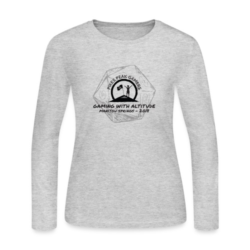 Pikes Peak Gamers Convention 2018 - Clothing - Women's Long Sleeve Jersey T-Shirt