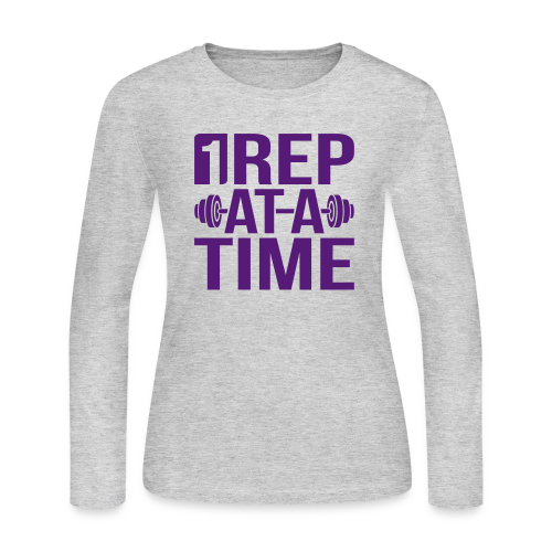 1Rep at a Time - Women's Long Sleeve Jersey T-Shirt
