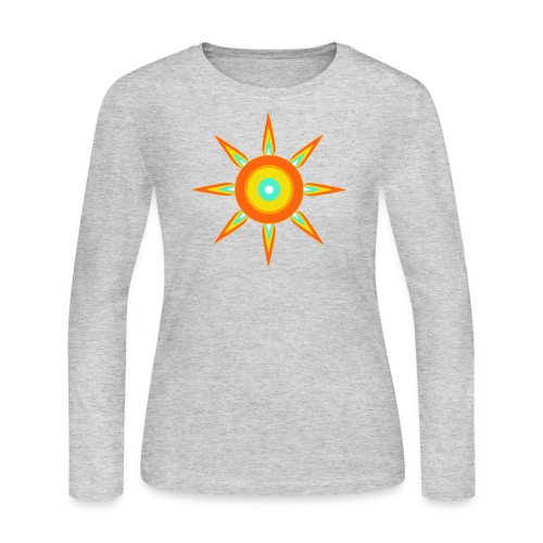 Indian style star - Women's Long Sleeve Jersey T-Shirt