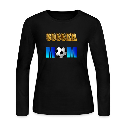 Soccer Mom - Women's Long Sleeve Jersey T-Shirt