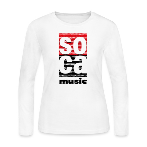 Soca music - Women's Long Sleeve Jersey T-Shirt