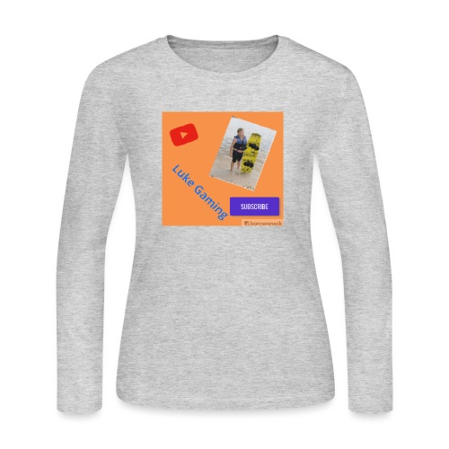 Luke Gaming T-Shirt - Women's Long Sleeve Jersey T-Shirt