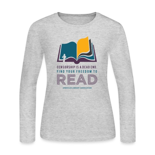 Find Your Freedom to Read - Women's Long Sleeve Jersey T-Shirt