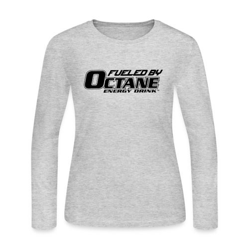 FUELED BY OCTANE ENERGY DRINK - Women's Long Sleeve Jersey T-Shirt