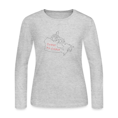 Coast to Coast - Women's Long Sleeve Jersey T-Shirt
