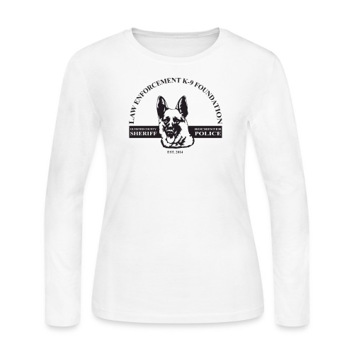 Dog Design - Women's Long Sleeve Jersey T-Shirt