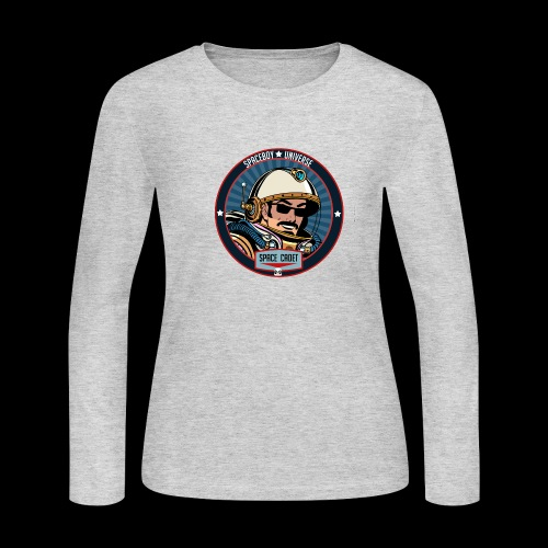 Spaceboy - Space Cadet Badge - Women's Long Sleeve Jersey T-Shirt