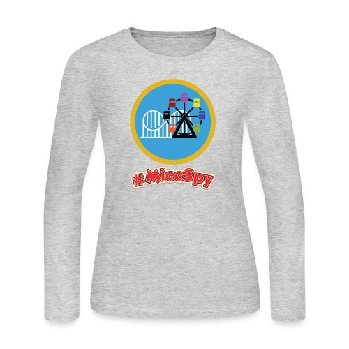 Paradise Pier Explorer Badge - Women's Long Sleeve Jersey T-Shirt